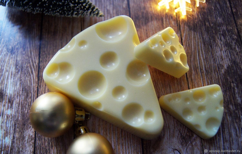 Мыло «Сыр большой»