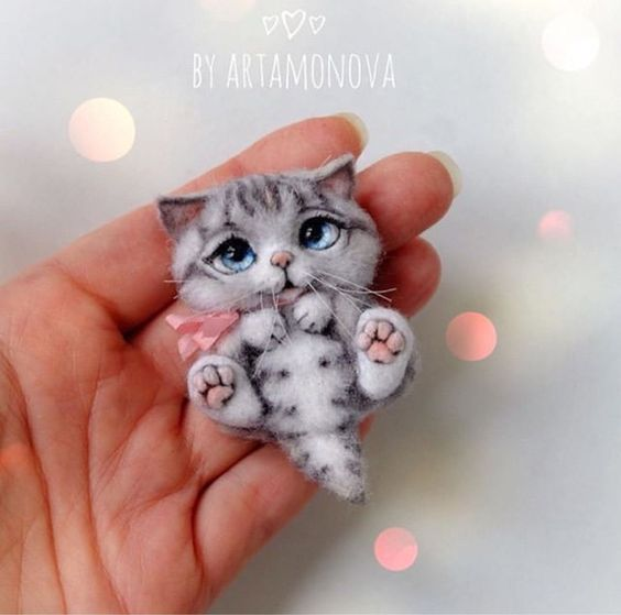 Милашка котенок