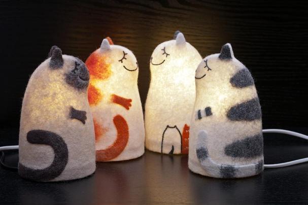 Коты-абажуры