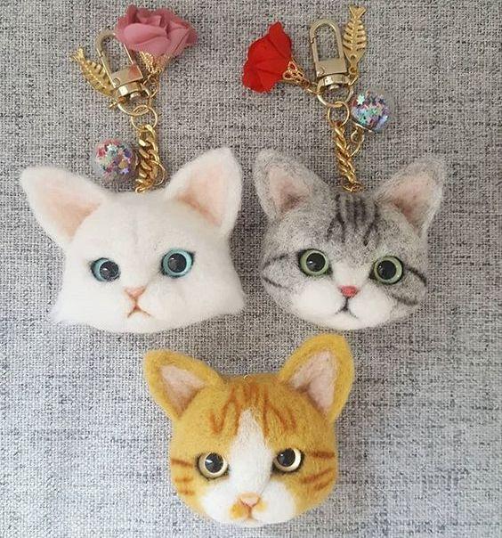 Брелоки-котики