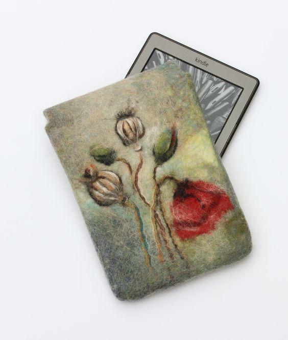 Чехол из шерсти для планшета