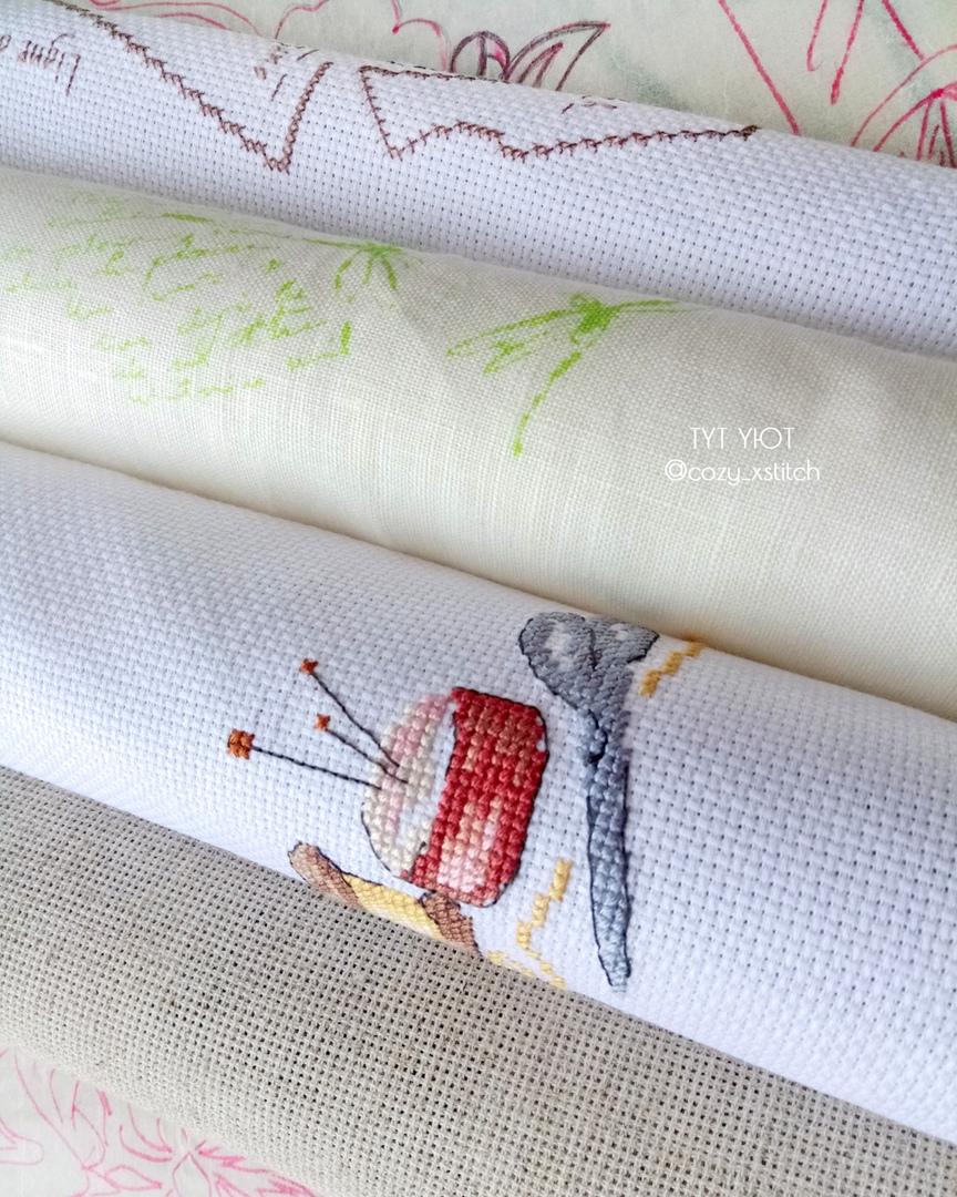 вышивка на канве