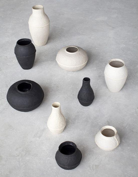 Декоративные вазочки из папье маше