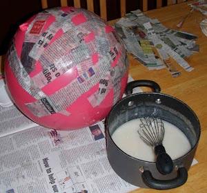 Процесс создания пиньяты